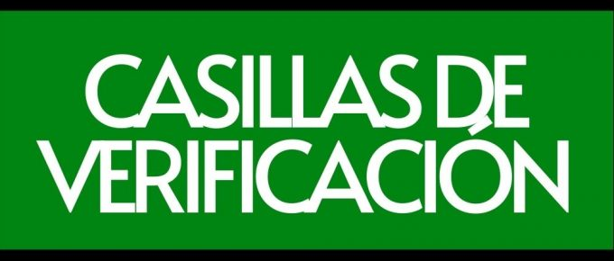 Casillas de verificación en Google Sheets