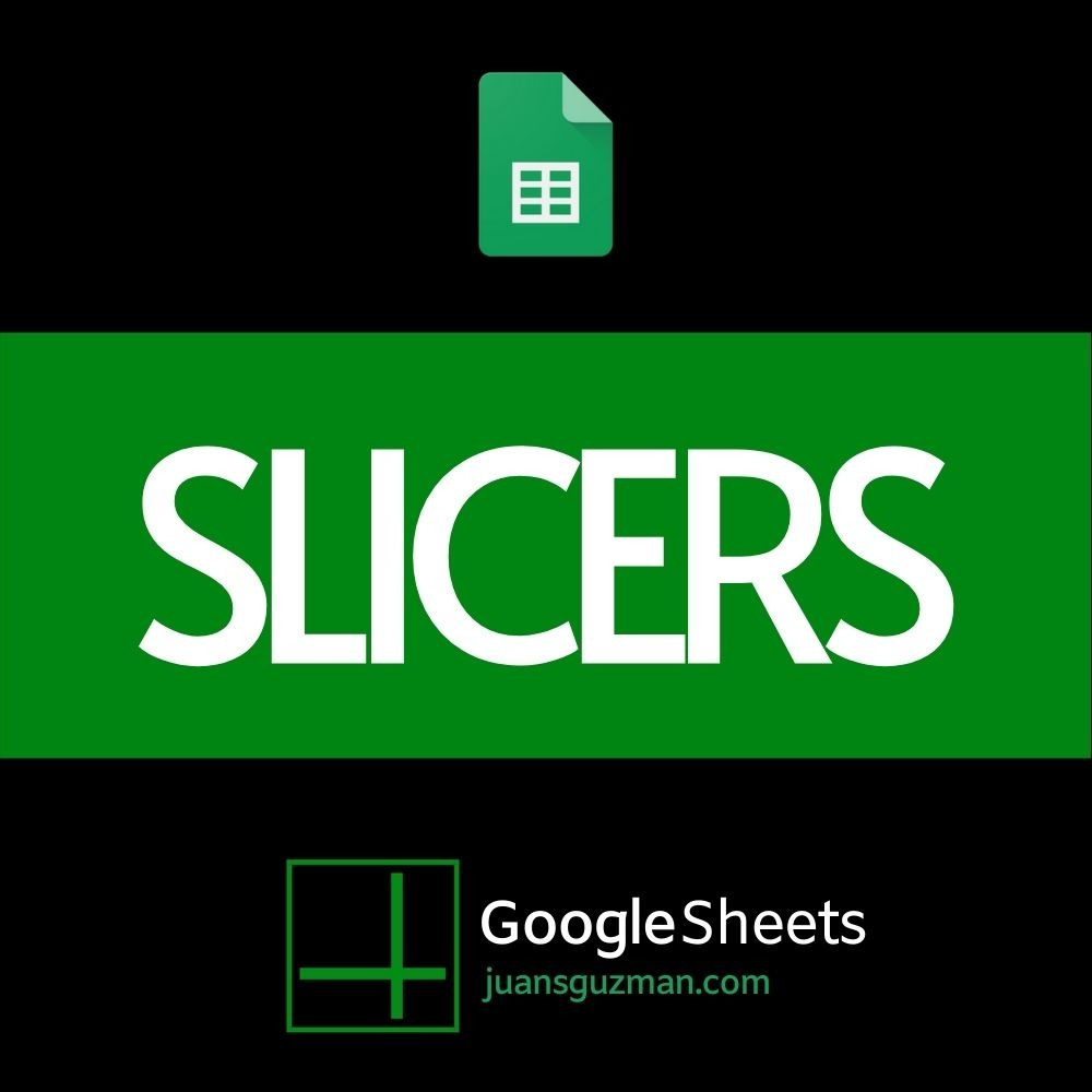 Slicers en Google Sheets